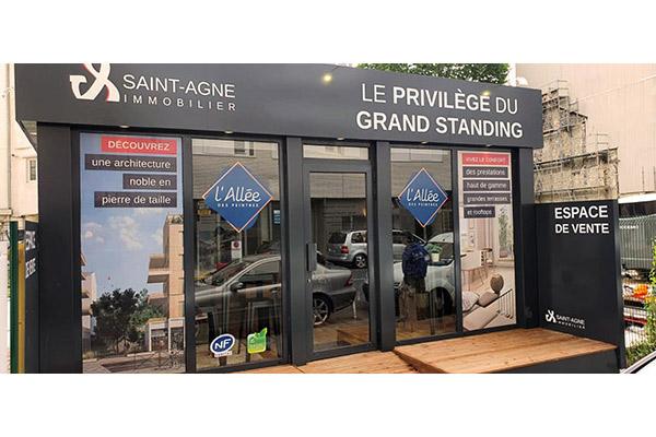 Bureau de vente : L'Allée des Peintres - Clichy